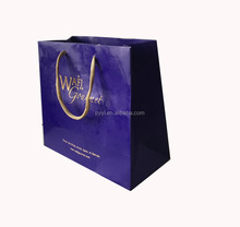 High Quality Fancy Custom Printed Luxury Gift Paper Shopping Bag