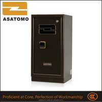 High security new arrival rigorous quality large model gun safe collectibles cheap price smart metal fingerprint safes