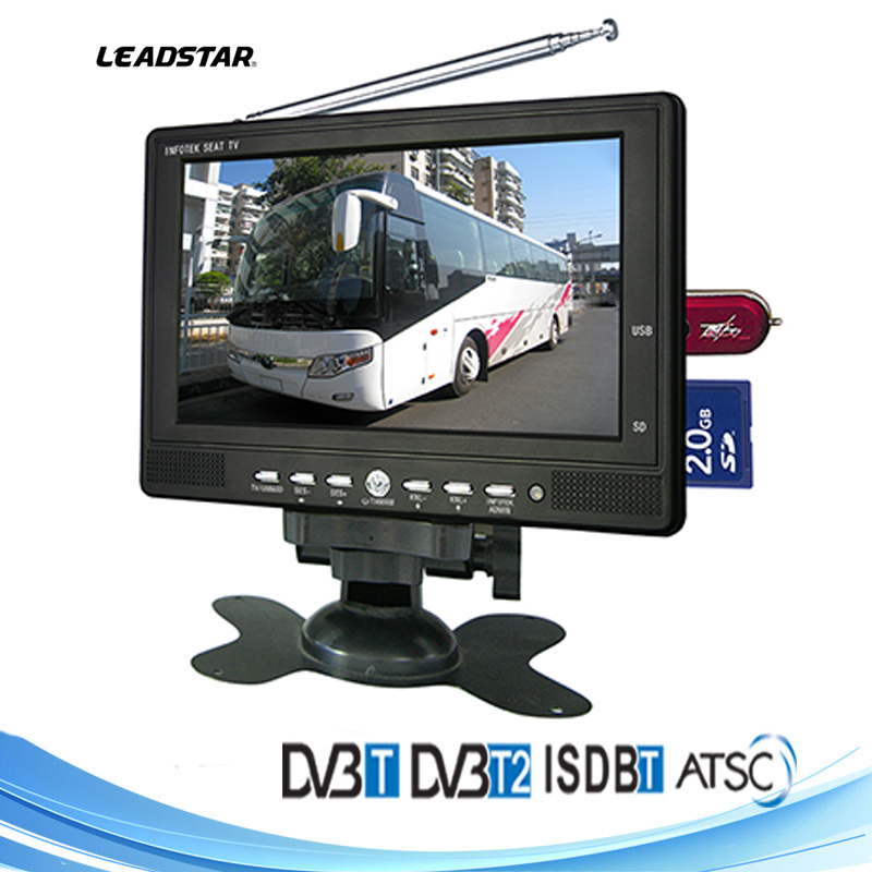 "China 12 Years Gold Supplier 7"" portable tv china led tv price in bangkok led tv with multimedia player"