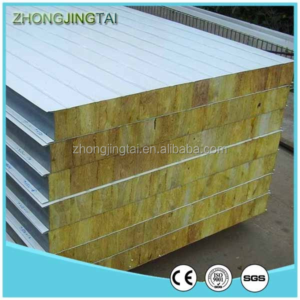Good Quality Heat Insulation Glass Wool/PU/EPS/Rock Wool Sandwich Paneling