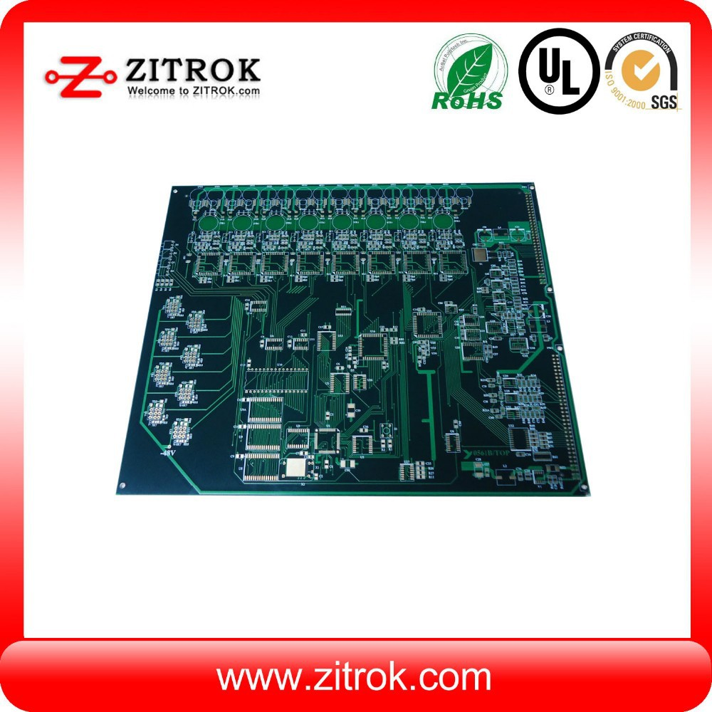 Electric fireplace control board with dry/wet film solder mask