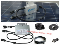 HIGH EFFICIENCY MPPT AND APL FUNCTION. PLUG AND PLAY. Solar micro inverter with 250W