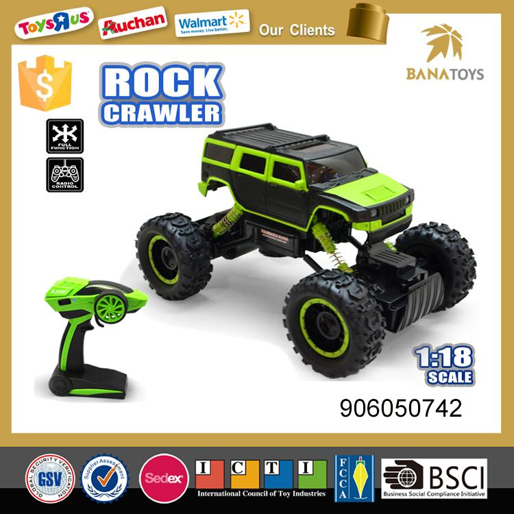 Green 1:14 off road nitro rc car toy