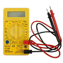Digital pocket size digital multimeter dt832