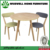 W-DF-0650 Oak Wood Square Restaurant Dining Table