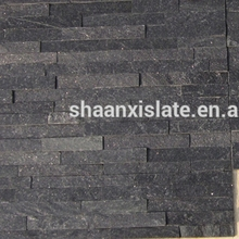 China hot sale natural black quartz cultural slate for home
