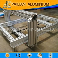 UK Top Class Anodized industrial V-Slot linear rail of 3d printer/CNC router/laser cutter,Workstations v-slot aluminum extrusion