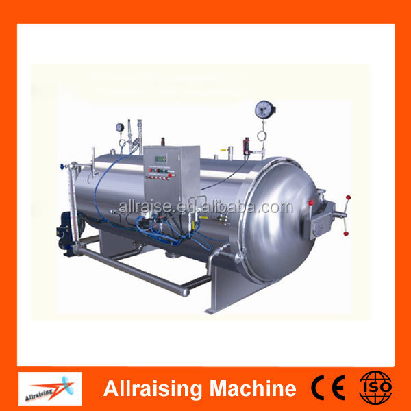 Single Pot Water Immersion Food Retort Machine For Sale