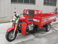 Engine 200CC China hot sale cargo tricycle with stronger front absorber best popular gasoline trike SY200ZH-A5