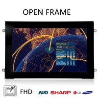 Open Frame 1920*1080 LCD screen 24 inch Led Monitor with VGA / DVI input