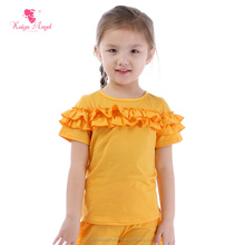 wholesale clothing baby girls top design little girl model top 100