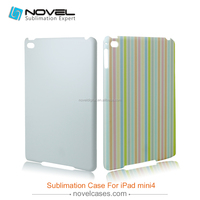 Fashion design sublimation plastic case for iPad mini4