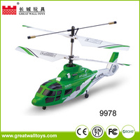 Great wall rc toys 2.4Ghz 4 channel double Blade remote control helicopter rc helicopter with light/gyro