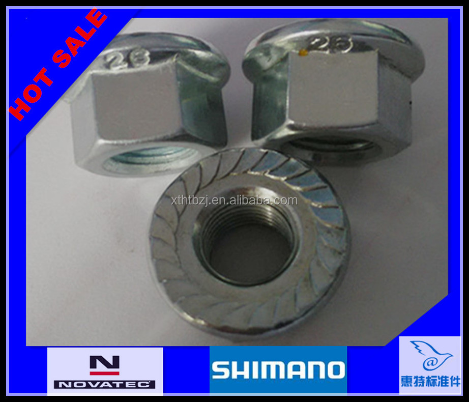 Shimano cooperate factory High strength Flange hexagon nut M16 !