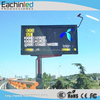 High definition and refersh rate LED display high brightness P6 outdoor display
