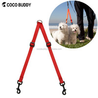 Customized Brand new products 2016 innovative product Two Doupler Pet Leash