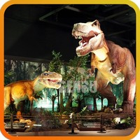 Simulation Artificial Dinosaur Dragon Zigong Dinosaurs