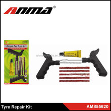 Best Selling Car Auto Tubeless Tire Tyre Repair Tools, Puncture Plug Repair Tool Kit