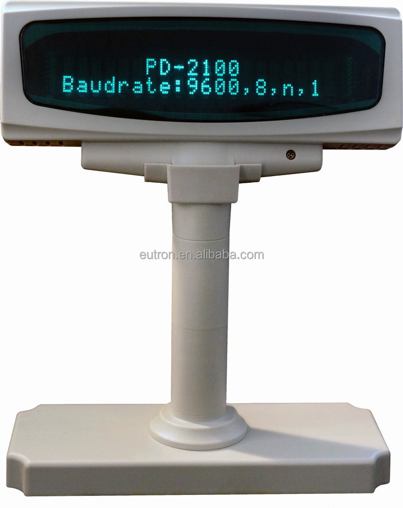 programmable vfd customer pole display for pos system