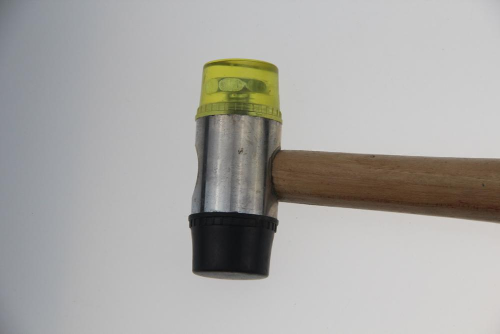 High Quality Genuine Hicory Handle Double-Faced Soft Mallet 35mm