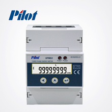 PILOT SPM93 Din Rail three phase modbus energy meter
