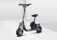 Hot EVO Uberscoot folding 49cc gas powered three wheel scooter with CE/EPA certificate
