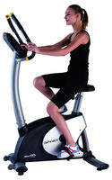 High Quality Upright Bike with touchscreen and heart rate monitoring 2013