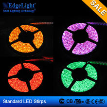 Edgelight led strip car waterproof high quality flexible 5050 led strip rgb light color with controller made in Shanghai