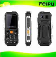 "1.77"" GSM Cheap Strong Flashlight Big Battery Feature MP3 Eldly People Use Mobile Phone P8"