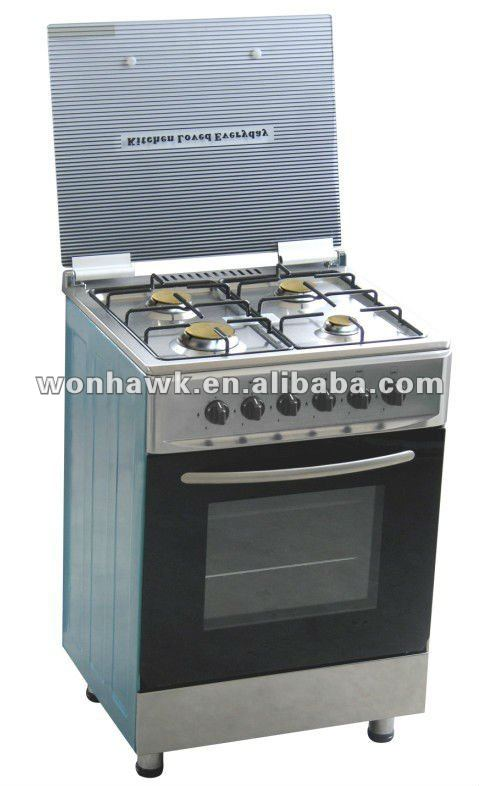 LPG SB-RS09A Four burners freestanding cooking range
