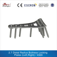 2.7 Distal Radius Buttress Locking Plate trauma implant surgical orthopaedic instrument
