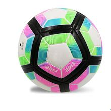 Seamless PU leather laminated football indoor and outdoor soccer ball strike balls size 5