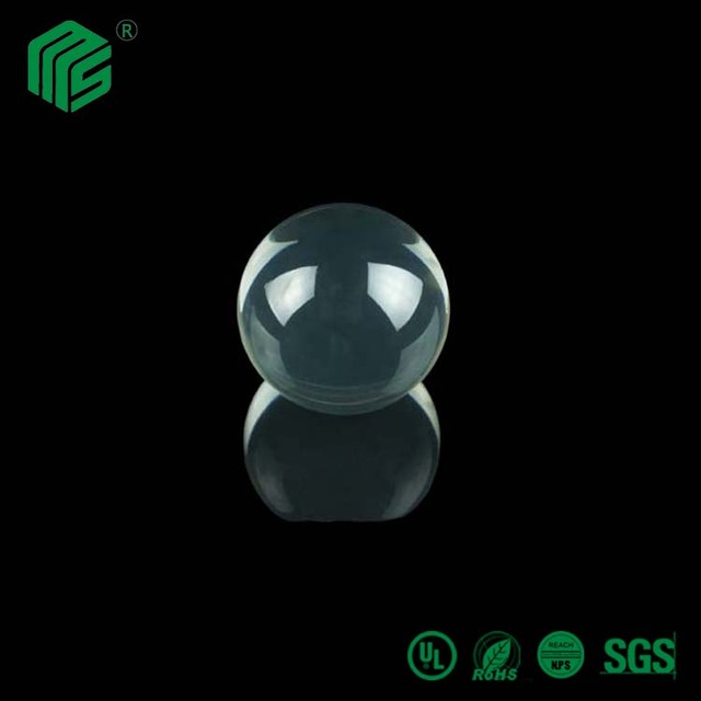 20mm plastic acrylic pmma crystal ball with hole