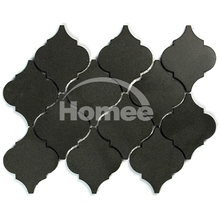 Wall Decor Natural Stone Lantern Water Jet Cutting Marble Design Tile Waterjet Marble Wall Tile