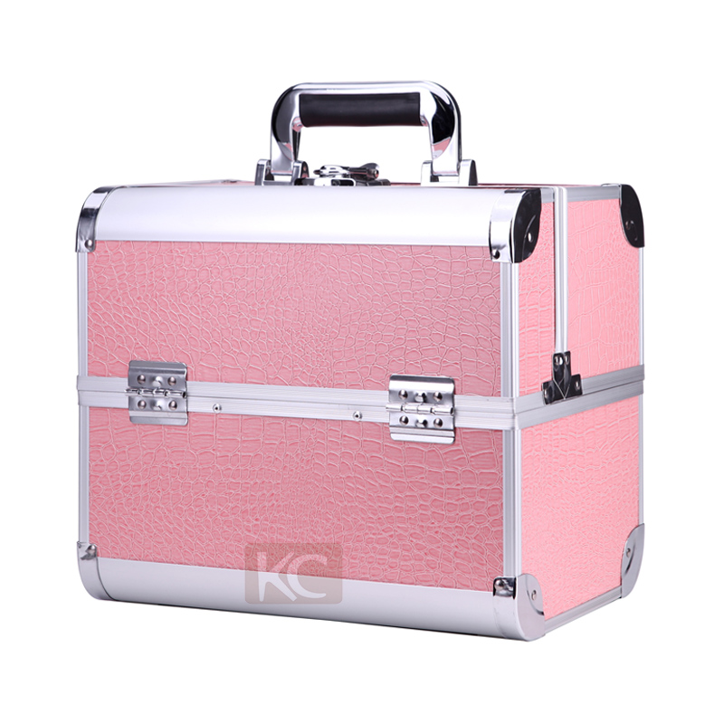 Professional High Quality Factory Customized Makeup Box Cosmetic Barber Case Vanity Case