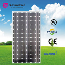 China portable mono solar panel korea 130w
