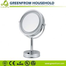 Gold Compact Cheap Round Single Cosmetic Mirror