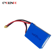 CYCLENPO 6000MAH 6S 30C MAX 60C 14.8V LIPO PACK BATTERY FOR Airplane NANO TECH