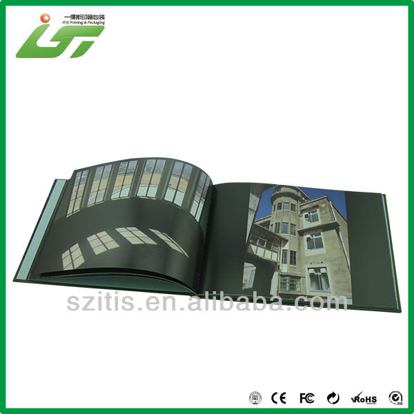 soft cover china epc mini book with company logo