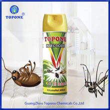 400ML Topone Brand Insecticide Aerosol Spray Names Chemical Insecticides