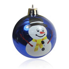 Shiny Hanging Christmas Plastic Ball for Christmas decoration