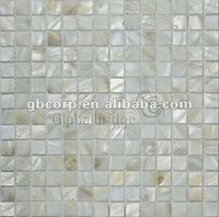20x20mm Interior Wall Mother Of Pearl Shell Mosaic Tile