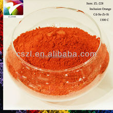 Ceramic color pigment powder coating ceramic paint color stain bright orange pigment for tile and glass mosaic