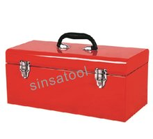 Metal Tool Cabinets Tool Box With Trays Small toolbox blue red