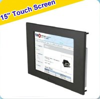 "15"" Industrial LCD Monitor With Touch Screen"