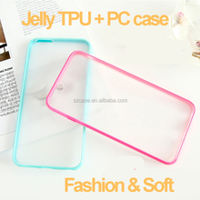 High quality cheap price tpu pc clear transparent cell phone case for iphone 6 plus back cover