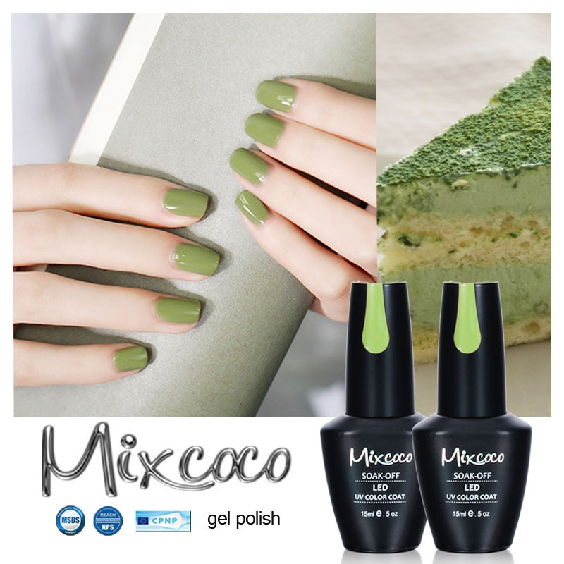 2017 new arrivals Mixcoco uv gel nail art designs chameleon gel nail ...
