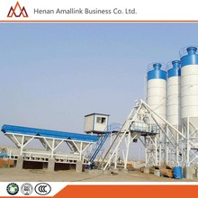 Factory Price Bucket Lift Type Wet Stationary HZS25 Mini Small Concrete Batching Plant