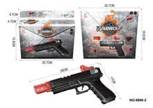 hot products 2017 fashion battery operated electric plastic safe toy gun with infrared