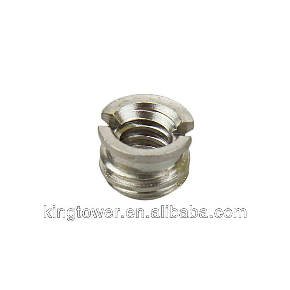 Durable brass straight union male screw with nickle plated